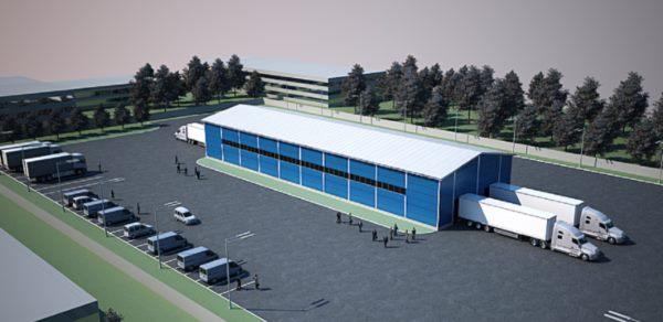 проектирование склада