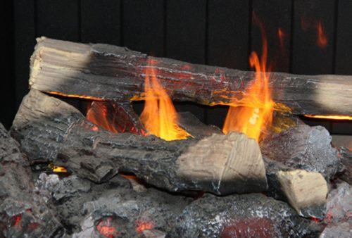 огонь угли